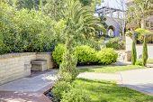 Casa Del Rey Moro Garden In Balboa Park, San Diego.