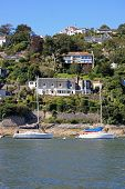 foto of dartmouth  - Kingswear by the River Dart in Devon - JPG