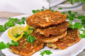 Vegetable And Meat Patties