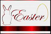 Red background  Easter