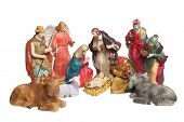 foto of nativity scene  - Nativity scene figures - JPG