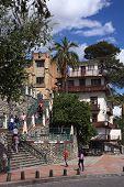 Stairs in Cuenca, Ecuador