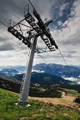 Chair Lift In Austria