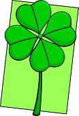 clover with four leaves