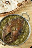 Saag Fish is a north Indian vegetable