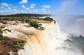 Iguazu Falls, Devil's Throat, View From Brazil