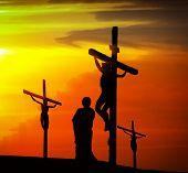 picture of calvary  - Calvary crucifixion - JPG