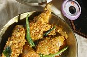 Chicken Hyderabadi - a spicy dish from Hyderabad