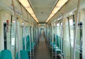 Suburb Train Interior
