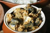 A South Kerala style Fish Curry from India