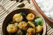 Sukhi Kolmi - A maharashtrian prawn dish