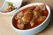 Sorpotel - spicy Pork curry from India