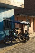 Mototaxi in Mancora, Peru