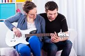 Learning To Play The Guitar