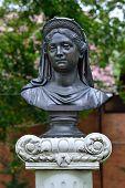 Bust Of Queen Louise. Zelenogradsk, Kaliningrad Oblast, Russia