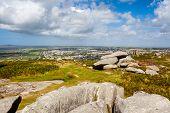 Carn Brea Hill Cornwall