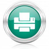 printer internet icon