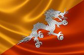 Kingdom of Bhutan's Flag