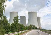Nuclear power plant Temelin in the Czech Republic in Europe
