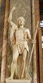 Rome - John the Baptist from Santa Maria sopra Minerva church