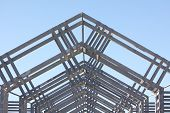picture of purlin  - metal architecture structure showing lots of detail - JPG