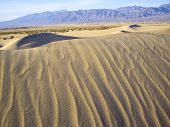 Shifting Sands In Death Valley