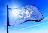 Un Flag Waving On The Wind