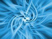 Blue Twirl Background