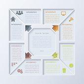 Vector Modern Infographic Design Template