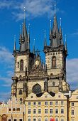 Church Of Mother Of God In Front Of Tyn, Prague