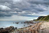 stony beach, scotland