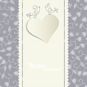 Card With A Heart.