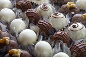 stock photo of bonbon  - Bonbon chocolate - JPG