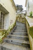 Alcatraz Island Staircase, San Francisco, California