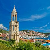 Island Town Of Hvar Waterfront