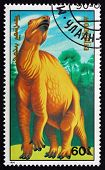 Postage Stamp Mongolia 1990 Dinosaur