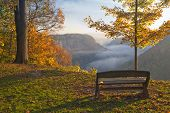 Early Morning Sunrise At Letchworth