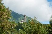 Hongkong-July 4,2014: Tian Tan Buddha on Lantau Island