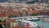 City Of Nice - View Of Port De Nice