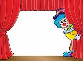 Clown thematics image 3 - eps10 vector illustration.