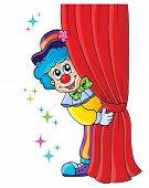 Clown thematics image 1 - eps10 vector illustration.