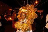 Queen of the J'ouvert in costume