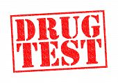 image of methadone  - DRUG TEST red Rubber Stamp over a white background - JPG