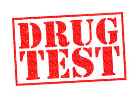 picture of methadone  - DRUG TEST red Rubber Stamp over a white background - JPG
