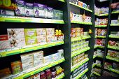Medicine In A Pharmacy