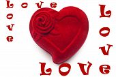 Red  heart,love