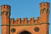 Rossgarten Gate - Fortress Of Konigsberg. Kaliningrad, Russia