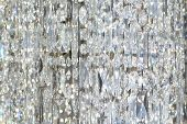 Hanging Crystal Curtain