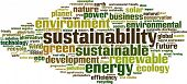 Sustainability Word Cloud