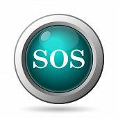 image of sos  - SOS icon - JPG
